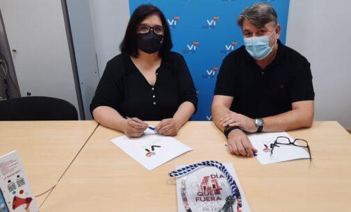 Comercios y Servicios Vi y la Junta Central de Fiestas firman un nuevo convenio de colaboración