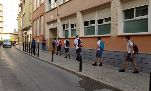 5.733 alumnos inician el nuevo curso escolar en Villena