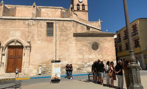 La iglesia de Santiago necesita urgentemente 40.000 € para acabar con las goteras en uno de los tejados