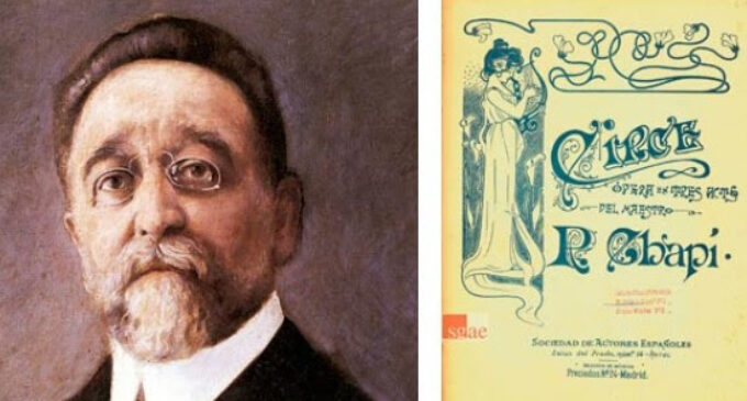 "El Teatro de la Zarzuela recupera la ópera ""Circe"", de Ruperto Chapí"
