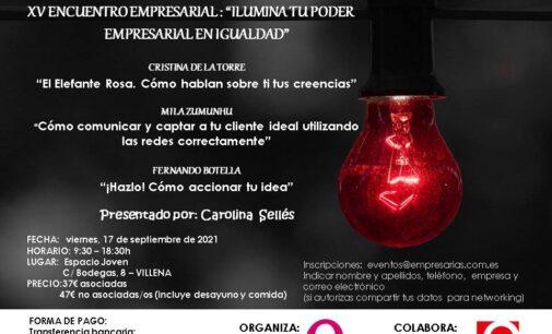 Empresarias.com vuelve a las jornadas presenciales con Ilumina tu poder empresarial en igualdad