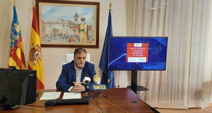 El alcalde anuncia el inicio en los próximos meses de las obras del Parque de Bomberos