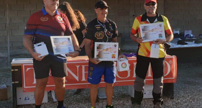 El villenero Vicente Esquembre, Medalla de Bronce en el Campeonato de España de Recorridos de Tiro