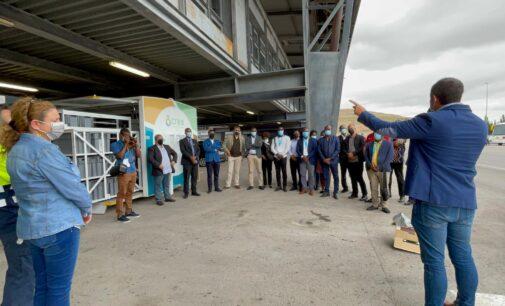 19 representantes de Cabo Verde y Santo Tomé y Príncipe visitan la planta de residuos de Villena