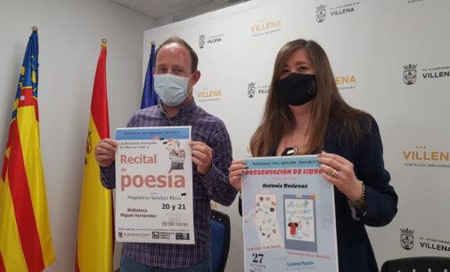 Las bibliotecas municipales de Villena, finalistas en los premios María Moliner con 2.000 €