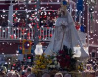 La Morenica llega al santuario entre aplausos