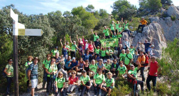 Aviana retoma la actividad en los montes de Biar
