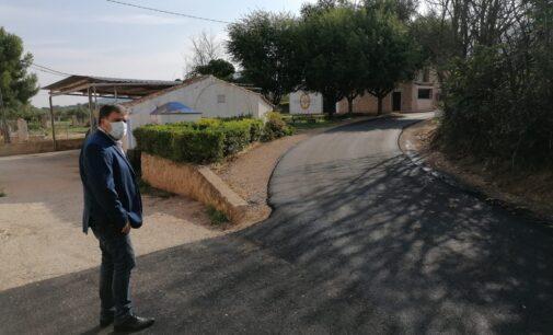 El Ayuntamiento termina las obras de mejora de los caminos de La Zafra, La Castellana y Alcúzar