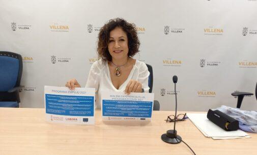 Villena recibe una subvención de 845.000 euros para la contratación de 46 personas